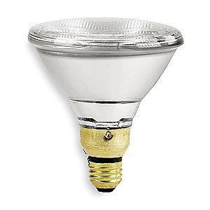 GE 75W Halogen Lamp, PAR38, Medium Screw (E26), 1500 lm, 2750K