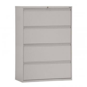 Sandusky 800 Series 4 Drawer Lateral File Dove Gray Color