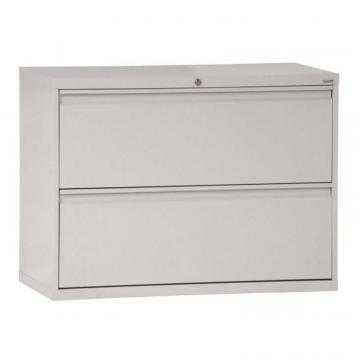 Sandusky 800 Series 2 Drawer Lateral File Dove Gray Color