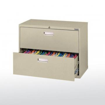 Sandusky 600 Series 2 Drawer Lateral File Putty Color