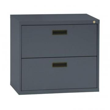 Sandusky 400 Series 2 Drawer Lateral File Charcoal Color