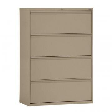 Sandusky 800 Series 5 Drawer Lateral File Burgundy Color