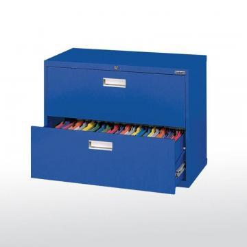 Sandusky 600 Series 2 Drawer Lateral File Blue Color