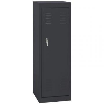 "Sandusky 15"" L x 15"" D x 48"" H Welded Steel Locker in Black"