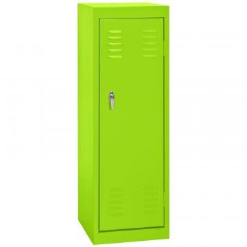"Sandusky 15"" L x 15"" D x 48"" H Welded Steel Locker in Electric Green"