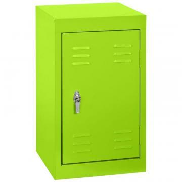 "Sandusky 15"" L x 15"" D x 24"" H Welded Steel Locker in Electric Green"