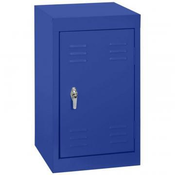 "Sandusky 15"" L x 15"" D x 24"" H Welded Steel Locker in Ocean"