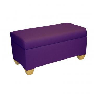 Skyline Kids Storage Bench In Duck Grape