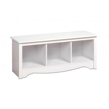 Prepac White Cubbie Bench