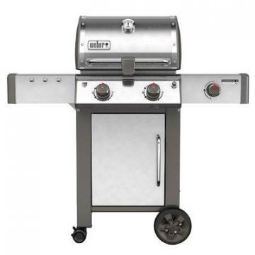 Weber Genesis II LX S-240 2-Burner Natural Gas Grill, 29,000 BTU Stainless Steel