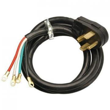 Master Electrician 6-Ft. 10/4 SRDT Black Round Dryer Cord
