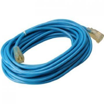 Master Electrician Extension Cord,  14/3 SJTW Blue,  50-Ft.