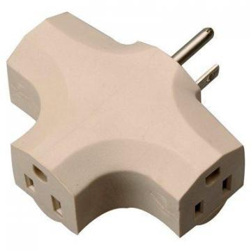 Master Electrician 3-Outlet Indoor Power Adapter