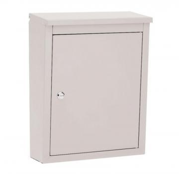 Architectural Mailboxes Soho Locking Wall Mount Mailbox Pearl Gray