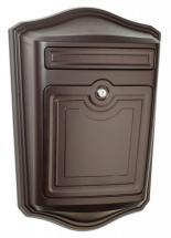 Architectural Mailboxes Maison Locking Wall Mount Mailbox Oil Rubbed Bronze