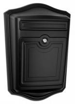 Architectural Mailboxes Maison Locking Wall Mount Mailbox Black