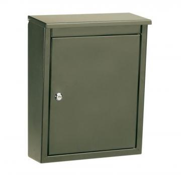 Architectural Mailboxes Soho Locking Wall Mount Mailbox Bronze