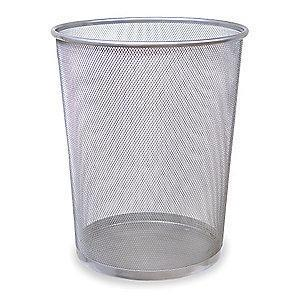 "Rubbermaid Concept Collection 5 gal. Open Top Decorative Wastebasket, 14""H"