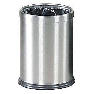 "Rubbermaid Hide-A-Bag 3-1/2 gal. Open Top Decorative Wastebasket, 12-1/2""H"