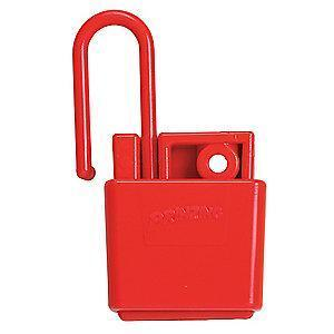 Brady Lockout Hasp, Snap-On Lockout Hasp Style, Plastic