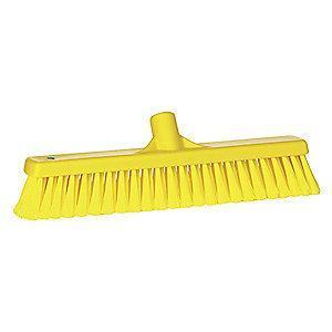 Vikan 31786 Polypropylene Broom Head, Block Size 2 x 16""