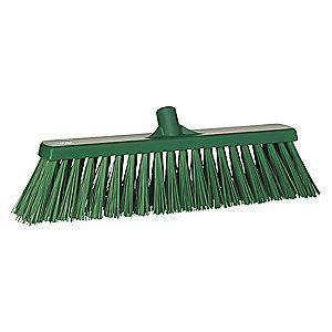 "Vikan 29202 Polyester Broom Head, Block Size 2-1/2"" x 19"""