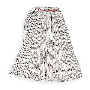 Rubbermaid FGF11700WH00 Cotton Wet Mop, 1 EA