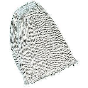 Rubbermaid FGV11900WH00 Cotton Wet Mop, 12 PK