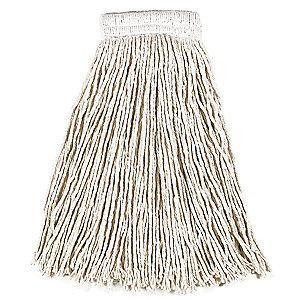 Rubbermaid FGV15600WH00 Cotton Wet Mop, 12 PK