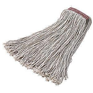 Rubbermaid FGF21700WH00 Cotton Cut-End Wet Mop, 12 PK