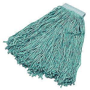 Rubbermaid FGF13700GR00 Synthetic Blend Cut End Wet Mop, 6 PK