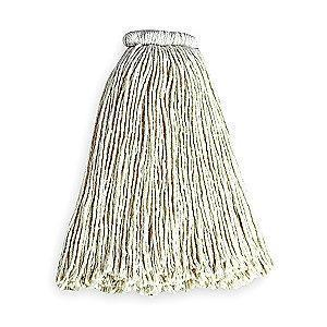 Rubbermaid FGF16900WH00 Cotton Wet Mop, 1 EA