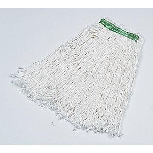 Rubbermaid FGB12200WH00 Rayon Wet Mop Wet Mop, 12 PK