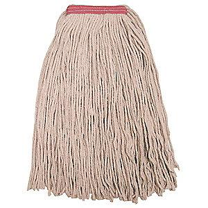 Tough Guy 16W207 Cotton Cut End Wet Mop, 1 EA