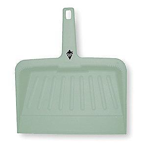 "Tough Guy 2VEY2 Plastic Hand Held Dust Pan, Length 12"", Width 12"""
