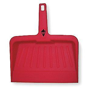 "Tough Guy 2VEY1 Plastic Hand Held Dust Pan, Length 12"", Width 12"""