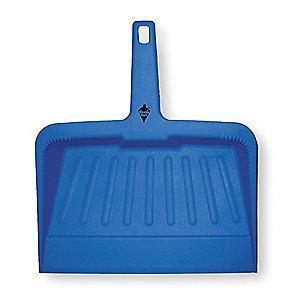 "Tough Guy 2VEY3 Plastic Hand Held Dust Pan, Length 12"", Width 12"""