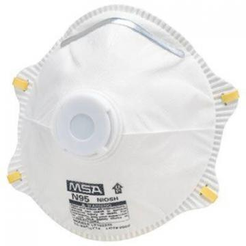 Safety Works Respirator With Exhalation Valve