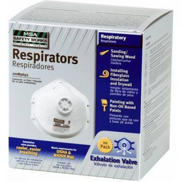 Safety Works 10-Pack N95 Respirator