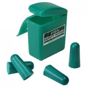 Safety Works 2-Pack Foam Ear Plugs In Carrying Case