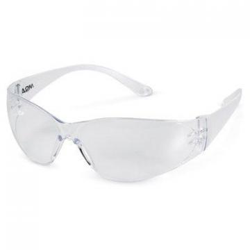 Safety Works Close-Fitting Safety Glasses With Clear Lens