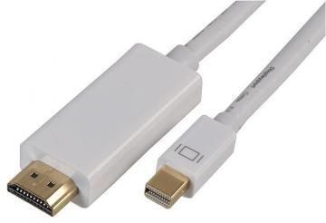 Pro Signal Mini DisplayPort to HDMI Male to Male Lead, 1m White