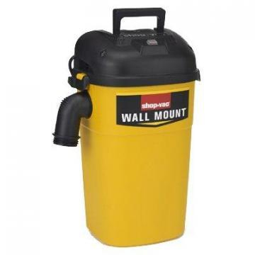 Shop-vac Shop-Vac Wet/Dry Vac, Wall Mountable, 4-HP, 5-Gal.