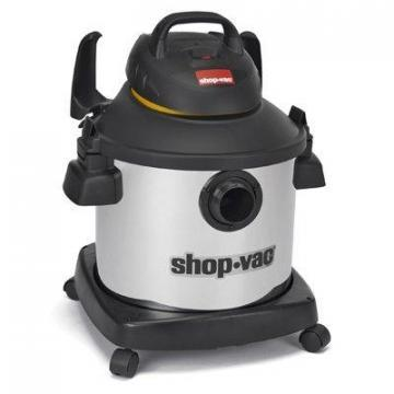 Shop-vac Shop-Vac Wet/Dry Vac, Stainless Steel, 8-Gal., 5-HP
