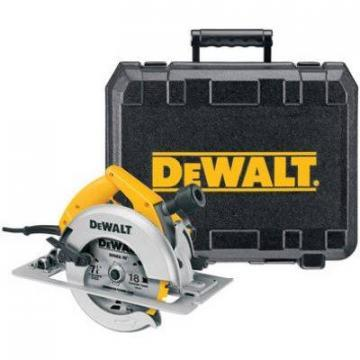 DeWalt Circular Saw Kit, 7-1/4-In., 15-Amp, 5,800-RPM