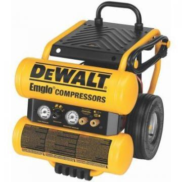 DeWalt Electric Air Compressor, Wheeled, 1.1-HP, 4-Gallon
