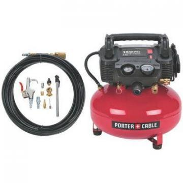 Porter-Cable Pancake Air Compressor, 6-Gallon