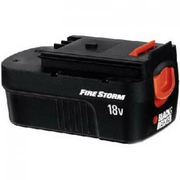 Black & Decker Slide Battery Pack, 18-Volt Ni-Cad, For Firestorm & Black & Decke