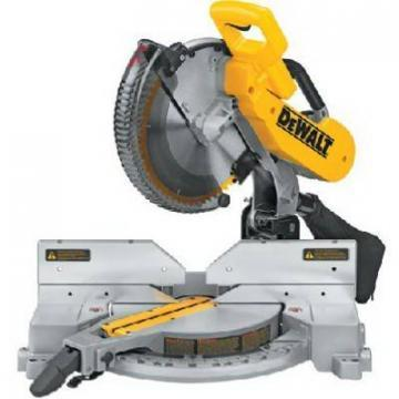 DeWalt Compound Miter Saw, 12-Inch, 15A, Double Bevel