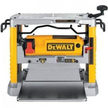 DeWalt Heavy-Duty Portable Planer With 3 Knives, 12-1/2 Inch